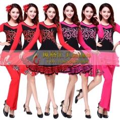 新款广场舞服装批发,广州舞蹈服装,广场舞演出服装批发厂家_风格汇美演出服饰