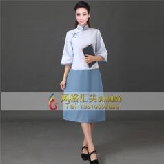 女士五四青年学生装,民国演出服装定做专家-风格汇美演出服饰