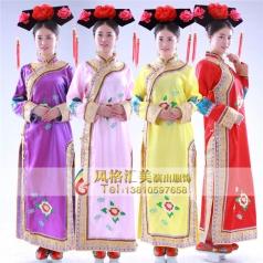 女子古代服装定做 古代演出服装定制专家_风格汇美演出服饰