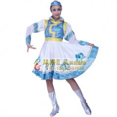 蒙古舞服装 蒙古舞服饰批发厂家_风格汇美演出服饰
