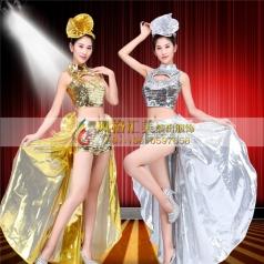 现代舞蹈演出服饰 现代舞服装定制专家_风格汇美演出服饰