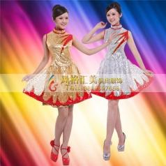 现代演出服饰定制 现代舞舞蹈服装定制专家_风格汇美演出服饰