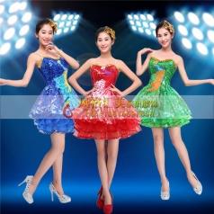 现代舞蹈服饰定制 现代演出服饰批发工厂_风格汇美演出服饰