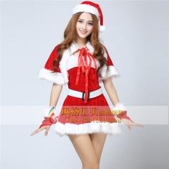 圣诞老人服装,圣诞女郎装批发_风格汇美演出服饰