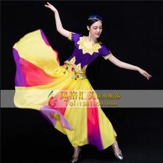 新疆舞蹈服装 维族舞蹈服装定制专家_风格汇美演出服饰