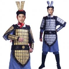 将军勇士盔甲服装 勇士盔甲演出服_风格汇美演出服饰