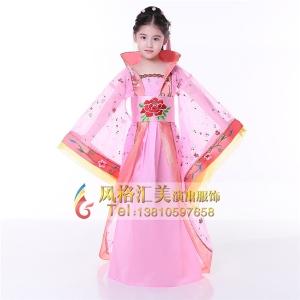 儿童古装演出服,儿童古代衣服批发 风格汇美演出服饰