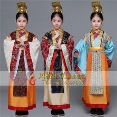 儿童古代影视服装,儿童古装服装加工厂_风格汇美演出服饰
