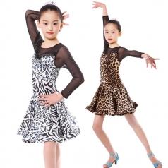 儿童拉丁舞蹈服装定制比赛服装舞台服定做_风格汇美演出服饰