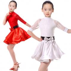 少儿拉丁舞蹈服装定做舞台表演服装定做行家_风格汇美演出服饰