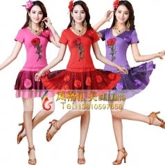 风格汇美广场舞蹈服装演出表演服定做舞台服饰