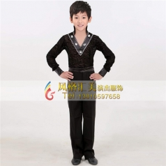 男式拉丁舞台服装表演服装_风格汇美演出服饰