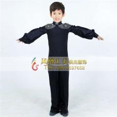 男式少儿舞蹈服装表演舞台服定做_风格汇美演出服饰