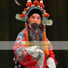 戏曲男蟒表演服戏曲蟒袍服定做厂家男戏曲服定做戏曲服饰_风格汇美