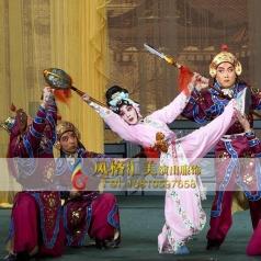 舞台戏曲靠站堂铠服装设计表演舞台服饰_风格汇美