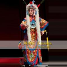 女改良靠戏剧服饰舞台剧戏服女靠定做_风格汇美