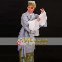 戏曲舞台服饰女褶子表演演出服定做演出服饰设计表演服定做_风格汇美