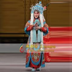 戏剧舞台戏曲女改良靠服饰演出表演服厂家_风格汇美