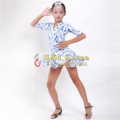 少儿拉丁舞台演出表演服定做_风格汇美演出服饰