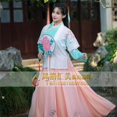 古代影视服装定做表演舞台服女性服装_风格汇美演出服饰