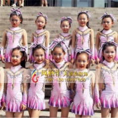 儿童健美操舞服定做表演服少儿健美操服定做_风格汇美演出服饰