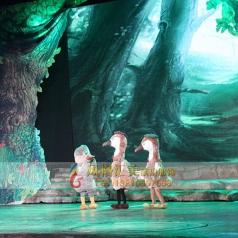 幼儿话剧儿童丑小鸭表演服装定制厂家供应_风格汇美演出服饰