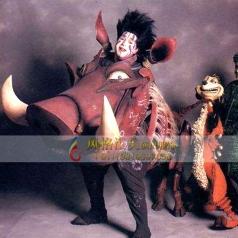 狮子王演出服装舞台道具影视头饰定做_风格汇美演出服饰