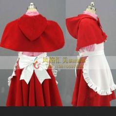 小红帽服装斗篷话剧演出服装定做批发_风格汇美演出服饰