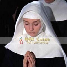 玛利亚见习修女影视剧舞台服装定制_风格汇美演出服饰