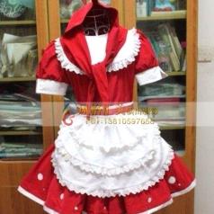 小红帽女卡通服装舞台演出儿童话剧服装定做_风格汇美演出服饰