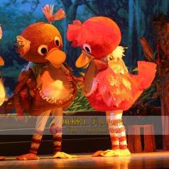 儿童话剧表演丑小鸭服装演出服定制供应_风格汇美演出服饰