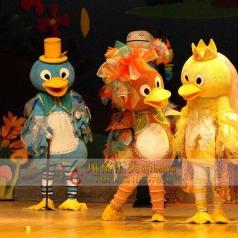 童话剧丑小鸭演出服装定做服饰_风格汇美演出服饰