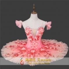 新款成人女式芭蕾舞台服装定做厂家_风格汇美演出服饰