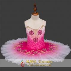 幼儿芭蕾演出表演服定做厂家_风格汇美演出服饰