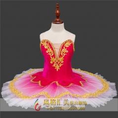 少儿芭蕾舞表演舞台服装_风格汇美演出服饰
