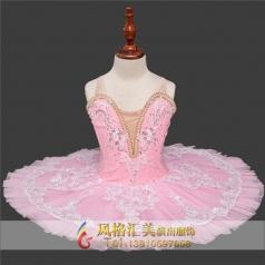 女童粉色系儿童芭蕾舞蹈服装定制_风格汇美演出服饰