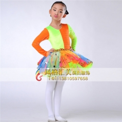 小学舞蹈队服装,舞蹈队服饰定制专家_风格汇美演出服装