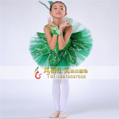 新款舞台少儿舞蹈服装演出服定做_风格汇美演出服饰