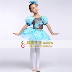 新款儿童舞蹈服装专业定制_风格汇美演出服饰