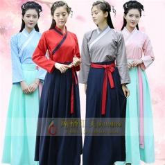 新款古代服装女古代演出服装汉服改良古装