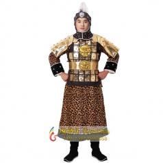 新款古装将军盔甲设计古代兵甲服装盔甲服装定做