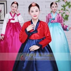 新款韩国韩服服装传统韩服演出服定制设计