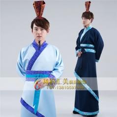 新款古代服装男古代演出服装古装表演服装定制