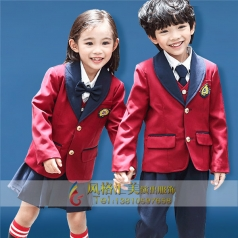 新款儿童团服学校儿童演出服装定制厂家