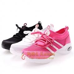 新款健美操舞鞋比赛演出鞋定制设计厂家直销