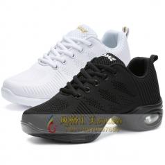 风格汇美健美操白鞋舞鞋设计定制厂家