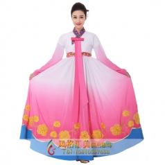 新款朝鲜族舞蹈演出服装定制设计厂家