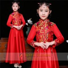 新款儿童舞台表演服装定制设计厂家直销