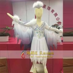 新款儿童舞蹈演出服装定做厂家_风格汇美演出服饰