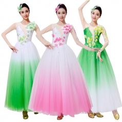 新款古典舞蹈服装演出服舞台装定制设计厂家